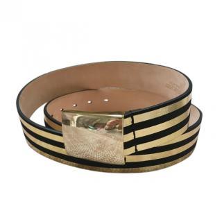 Isabel Marant striped belt