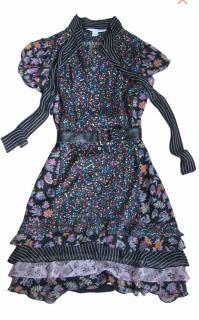 DVF silk gypsy dress