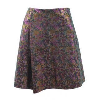 Phillip Lim floral a line skirt