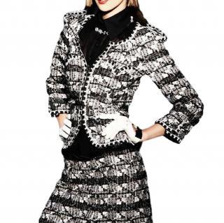 Chanel Monochrome Lesage Tweed Jacket
