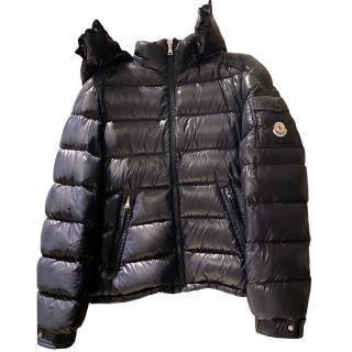 Moncler Navy Puffer Jacket