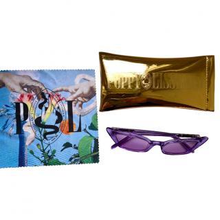 Poppy Lissiman Lilac Le Skinny Sunglasses