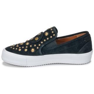 See by Chloe Black Studded Slip-On Sneakers