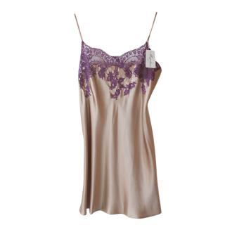 Marjolaine Jessy Silk Lace Trimmed Nightdress