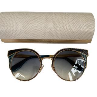 Jimmy Choo Ora cat-eye sunglasses