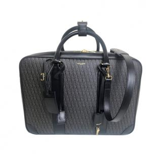 Saint Laurent Monogram Toile 12H travel Case