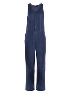 T by Alexander Wang Blue Sleeveless Jumpsuit