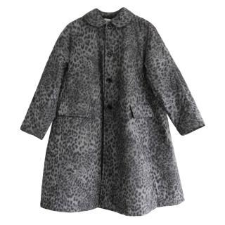 Comme des Garcons Leopard Print Jacket