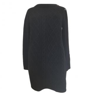 Max Mara Black Cashmere & Wool Jumper