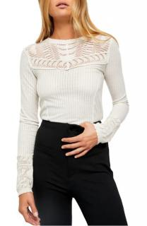 Free People Crochet knit Top