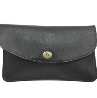 Christian Dior Vintage Black/Navy Clutch