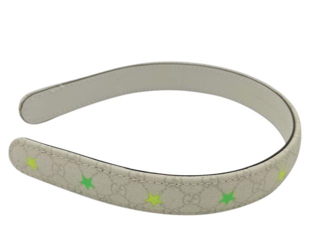 Gucci Monogram Neon Star Headband