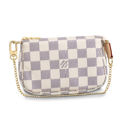 Louis Vuitton Damier Azur Mini Pochette Accessories