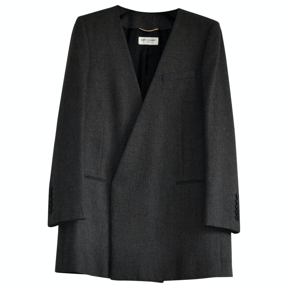 Saint Laurent Wool Tailored Jacket