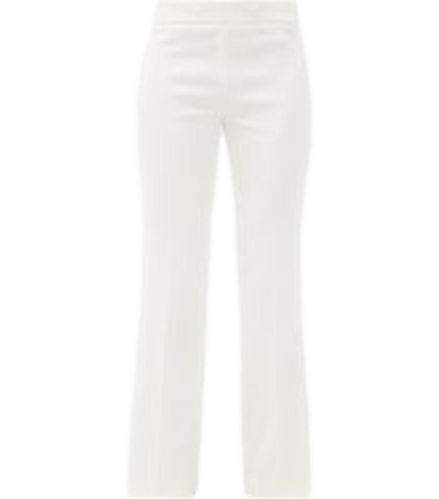 Giambattista Valli White Flared Trousers