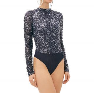 Jonathan Simkhai Sequin Embellished Bodysuit