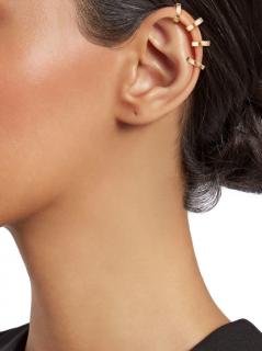 Repossi Women's 18K Rose Gold Four-Hoop Ear Cuff
