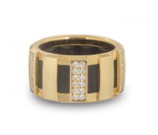 Chaumet Yellow Gold Diamond Band Ring