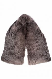 FurbySD Fox Fur Knit Stole