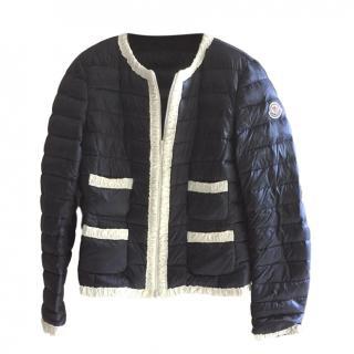 Moncler Navy/White Puffer Jacket