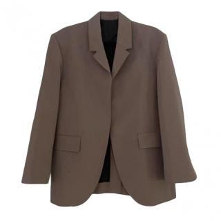 Deveaux Tailored Kyle Wool Blend Jacket