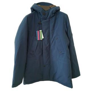 Paul Smith Teal Hooded Coat