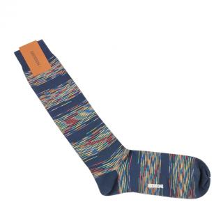Missoni Cotton Blend Striped Socks