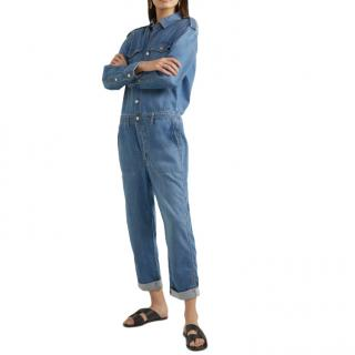 Current/Elliott The Crew denim jumpsuit