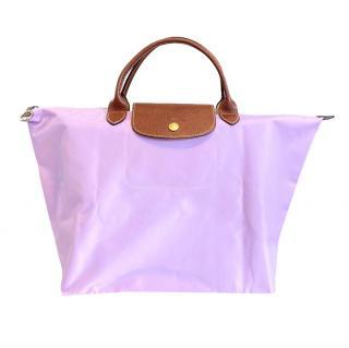 Longchamp Lilac Le Pliage Tote