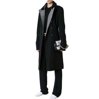 Chanel Pre-Fall Longline Black Trench Coat