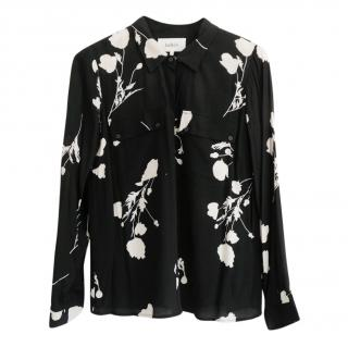 Ba&Sh Printed Crepe Lady Shirt
