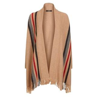 Weekend Max Mara Alpaca Wool Poncho