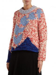 Burberry Chunky Intarsia-knit Jumper