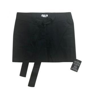 Isabel Marant Etoile Black Cotton Mini Skirt