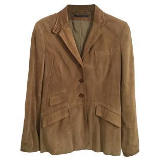 Ralph Lauren Blue Label Suede Jacket
