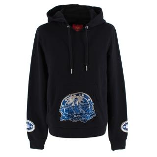Dilara Findikoglu Limited Edition Black Celestial Hoodie