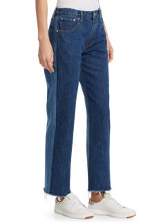 Elizabeth And James Holden Two-Tone Jeans