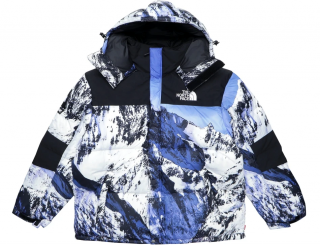 Supreme x The North Face Mountain Baltoro Jacket Blue/White