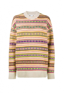 Stella McCartney Fair Isle Knit Virgin Wool Jumper