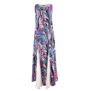 Emilio Pucci Silk blend Pink & Blue Sleeveless Dress