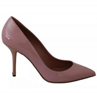 Dolce & Gabbana Rose Pink Patent Pumps