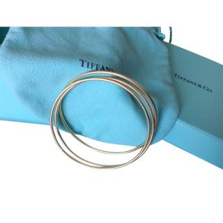 Tiffany & Co. 18ct Solid Yellow Gold Trio of Bangles