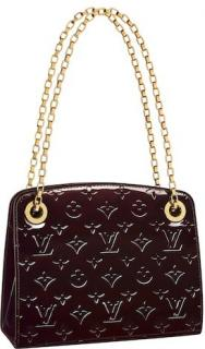 Louis Vuitton Amarante Monogram Vernis Virginia PM Bag