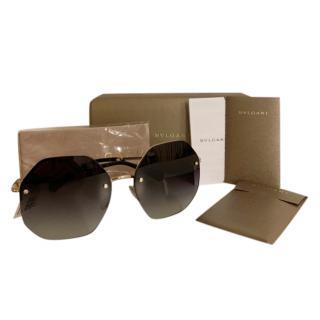 Bvlgari Rimless BV6122B Sunglasses