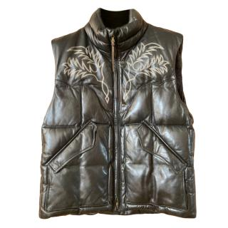 Ralph Lauren RLX Men's Down Black Gilet