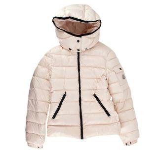 Moncler Baby Pink Quilted Puffer Jacket