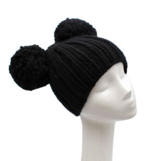 Eugenia Kim Mimi chunky-knit wool pompom beanie
