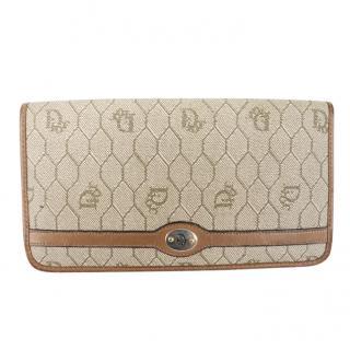 Christian Dior Vintage Honeycomb Wallet