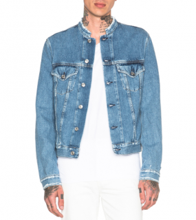 Acne Studios Who Frayed Denim Jacket
