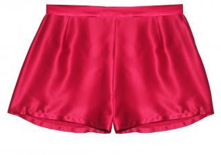 Maguy de Chadirac Fuchsia Silk Shorts